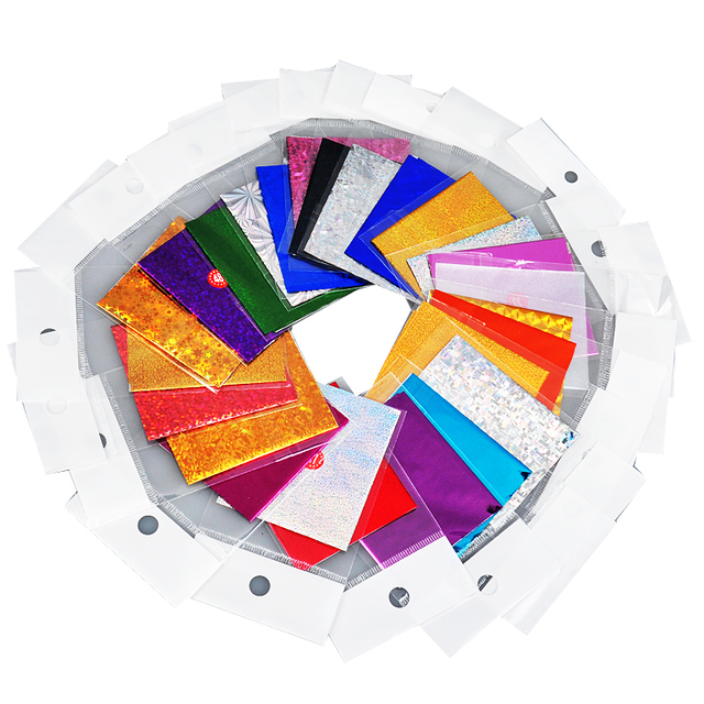 10 Colors Mix 10 Feet Nail Art Transfer Foil Set Tip Nail Decoration