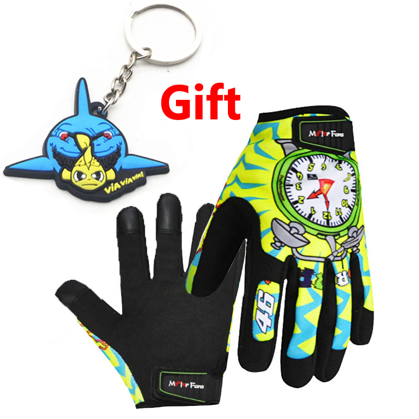 RPMMOTOR Sports Full Fingers Cycling Bicycle Motorcycle Sports Racing Game protection Glove 3 size can choice M L XL gloves