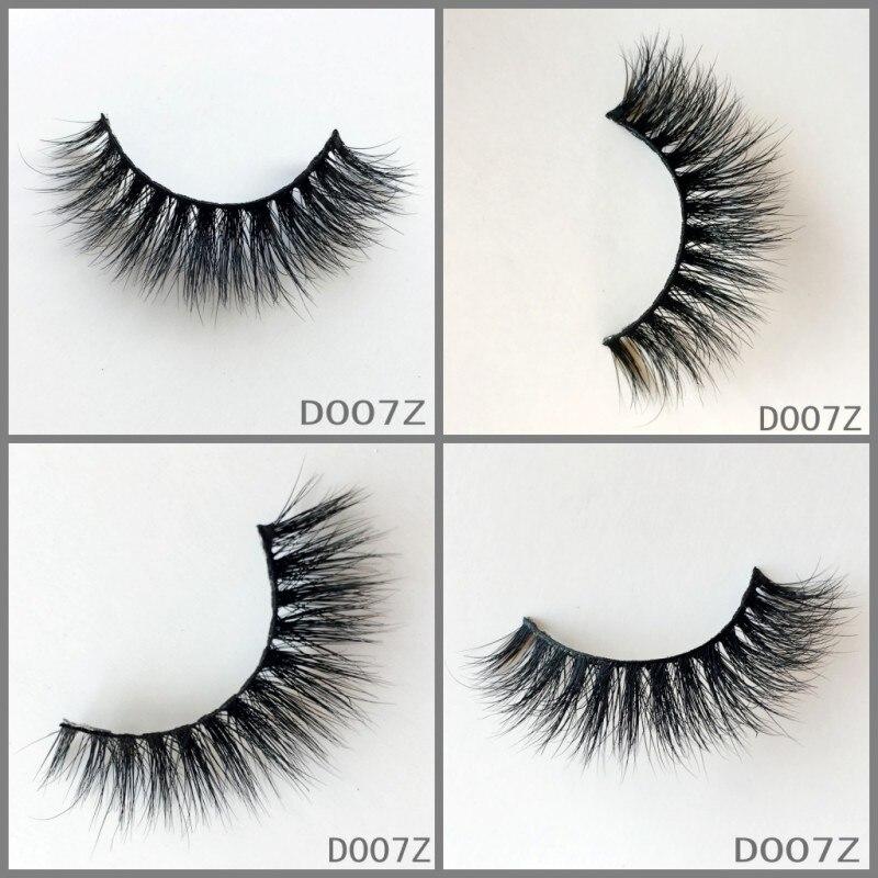 UPS FreeShipping 50pair 3d mink lashes false eyelashes 3d mink eyelashes natural long eyelashes hand made