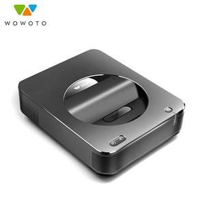 WOWOTO 1080P HD проектор Android 4,4 250 люмен Bluetooth мини pico проектор для дома 16 Гб rom Электрический фокусирующий проектор