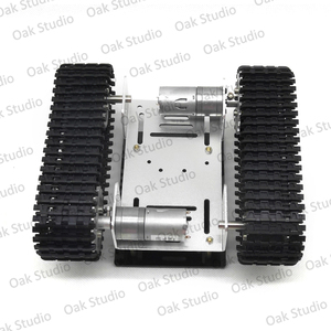 Image 5 - מיני T10 חכם טנק רכב שלדת במעקב קטרפילר Crawler רובוט פלטפורמת לdiy Arduino