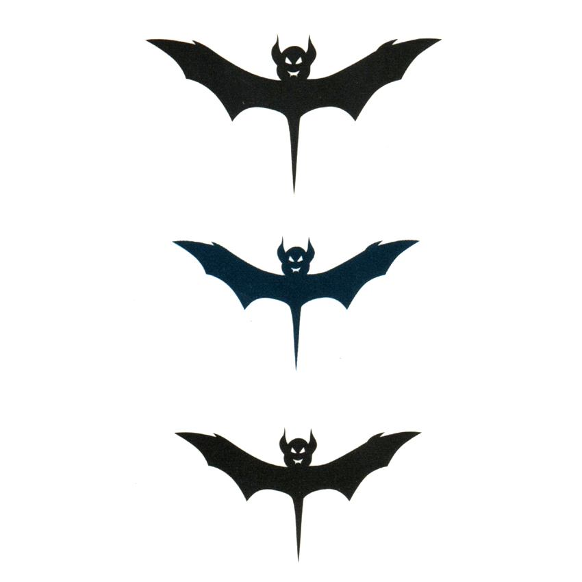 Bat Totem Waterproof Temporary Tattoos Men Harajukui Tattoo Sticker Tatuajes Henna Tattoo Pesca Sleeve Tatoo Body Feminino