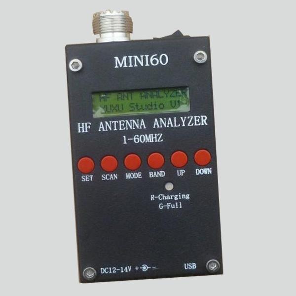Sark100 Mini HF ANT SWR Antenna Analyzer SARK100 For Ham Radio Hobbists 1-60 Mhz Home Audio Video Equipments