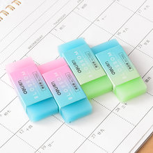 10 шт/лот kawaii прозрачный желеобразный резиновый ластик градиент