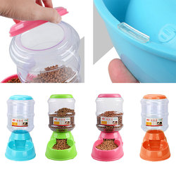 3.5L Cat Dog Intelligent Feeding Vessels Pet Automatic Feeder Water Drinking Fountain Animal Pet Bowl Water Bowl