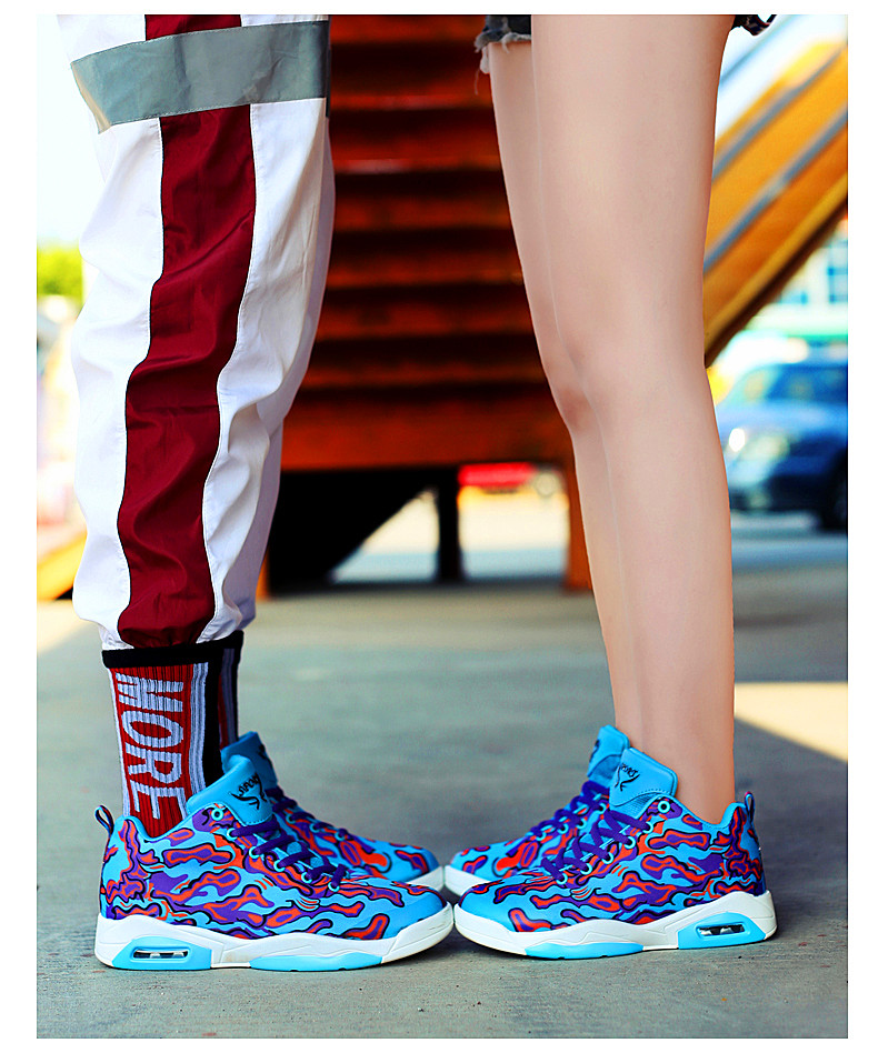 Couple Exclusive New Unisex Colored Sneakers 8