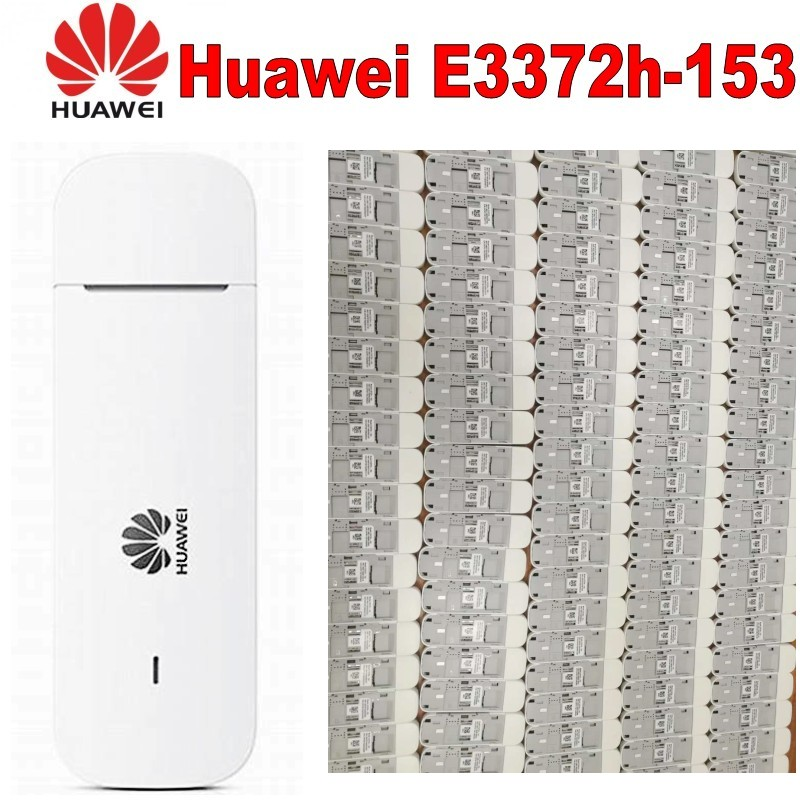 Unlocked Huawei E3372h 153 4G USB modem 4g USB Stick E3372 Data card Mobile Broadband 4g