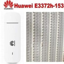 Открыл huawei E3372h-153 4G USB модем 4G интерфейсом USB E3372 данные карты мобильного широкополосного 4G USB модемов pk e3272 e3276 e398 k5150