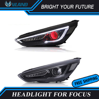 Car Headlights assembly for Ford Focus Head Lamp 2015 17 Bi xenon Lens Projector LED DRL Turn Signal Plug and Play
