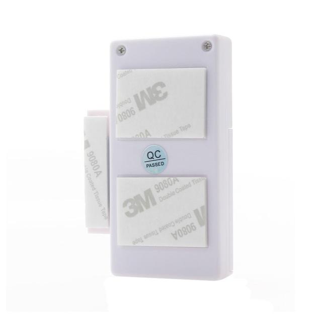 Door Window Entry Security ABS Wireless Remote Control Door Sensor Alarm Host Burglar Security Alarm System Home Protection Kit