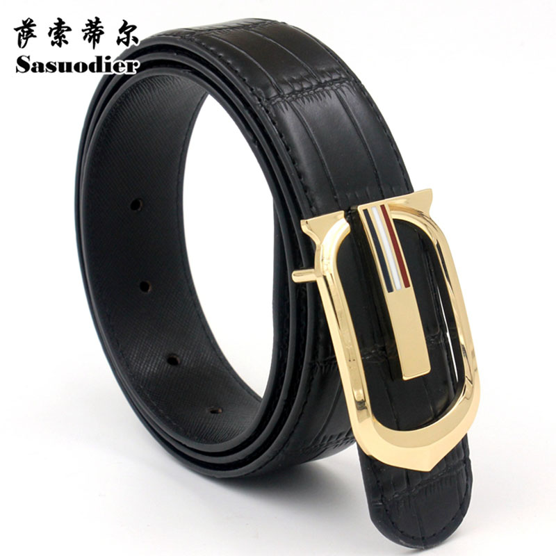 luxury woman men belts designers waist strap cowboys jeans