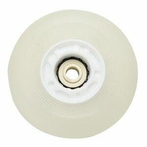 Image 4 - 5 colori Lampeggianti di Luce Ruote Da Skate Roller Inline Scorrevole Flash PU Ruote Da Skate Roller 80mm 90A senza Cuscinetti