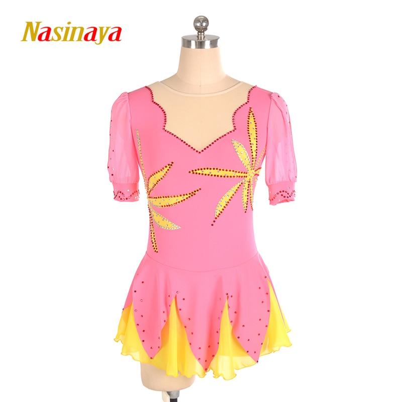 Nasinaya Eiskunstlauf Kleid Customized Wettbewerb Eislaufen Rock für ...