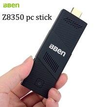 Bben windows10 fã intel mini pc, 4 GB de RAM + 64 GB emmc mini pc Computador pc vara media player USB3.0 wi-fi com EUA/UE plug em estoque