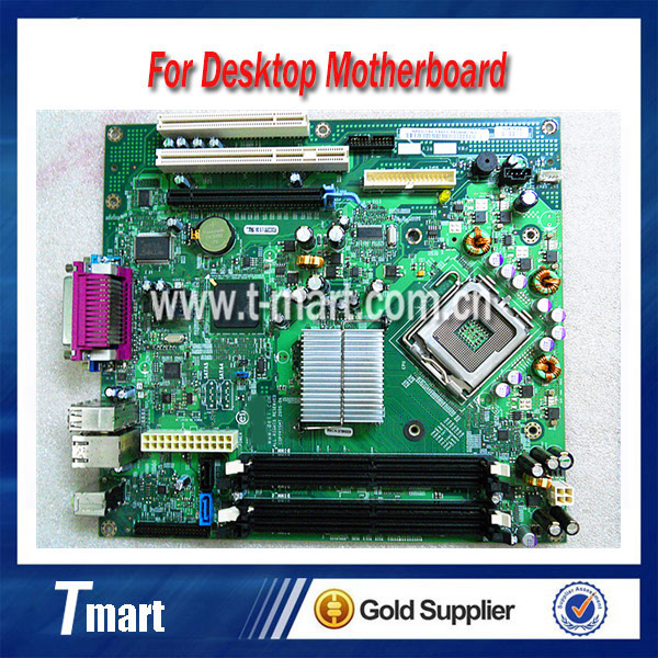 ФОТО 100% working Desktop motherboard for DELL 745 965G MM599 RF705 System Board fully tested