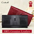 Guarantee Genuine Leather Ladies Women Wallets Purse Long Alligator Wallet Women Elegant Female Women's Wallets Leather Wallet