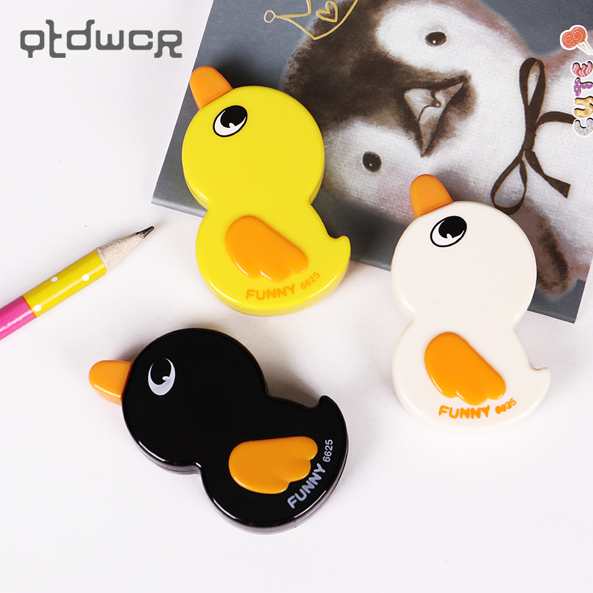 Lovely 6mX5mm Funny Duck Correction Tapes Stationery School Supplies Student Prize For Kids
