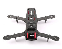 Dragon Model 1set Blackout QAV250 Carbon Fiber Mini 250 FPV Quadcopter Frame Unassembled High Quality Promotion