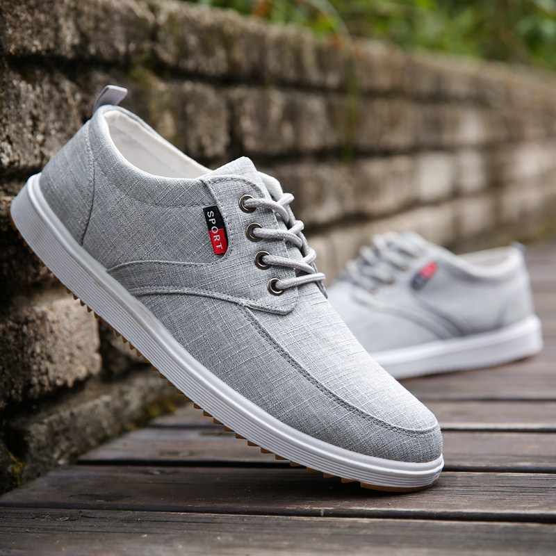 Cresfimix Chaussures Masculines Male Fashion Comfortable Spring Autumn Cloth Shoes Men Cool Leisure Shoes Casual Shoes A5001