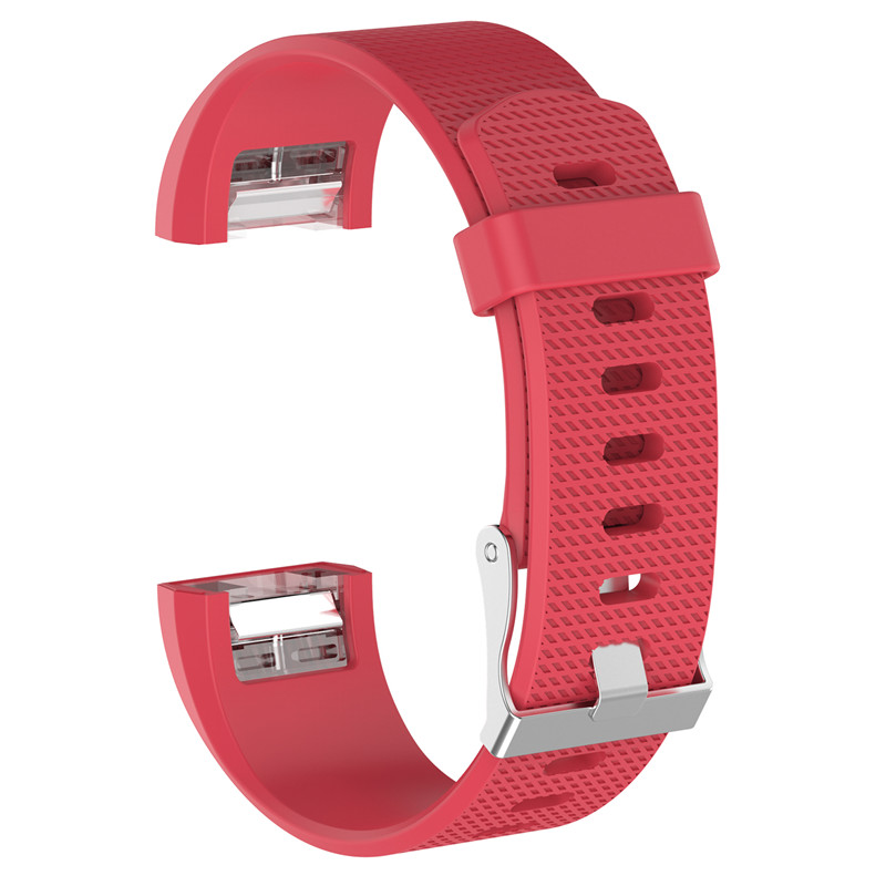 Wristband Wrist Strap Smart Watch Band Strap Soft Watchband Replacement Smartwatch Band For Fitbit blue YURIE2 22