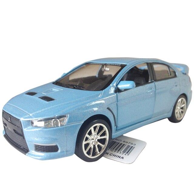 Rmz MITSUBISHI lancer landcerevox alloy car model toy gift