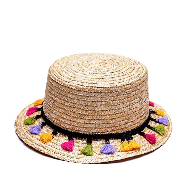 Compra sombreros de paja natural online al por mayor de
