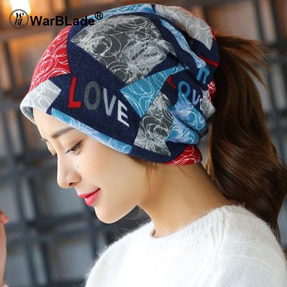 WarBLade 2018 New Fashion Headwear Women's hats Female Winter Caps Star hats ladies spring and autumn Hip-hot   Skullies     Beanies