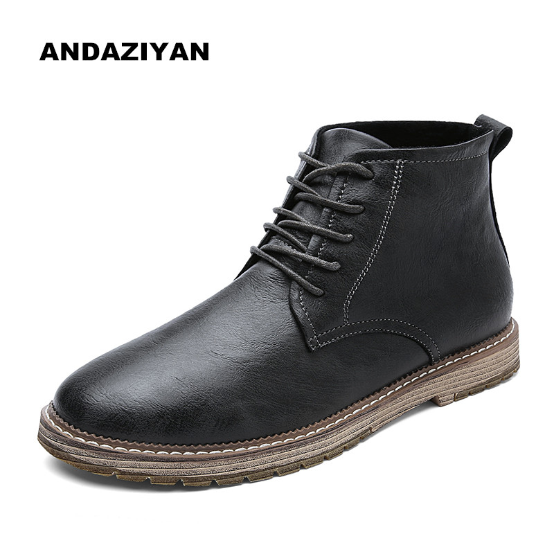 High top casual shoes trend wild men 39 s shoes in Men 39 s Casual Shoes from Shoes