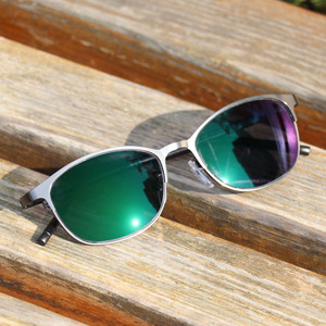 Image 4 - 2018 Overgang Zonnebril Meekleurende Leesbril Brand Design Mannen Half Frame Vierkante Leesbril Met Dioptrie Bril