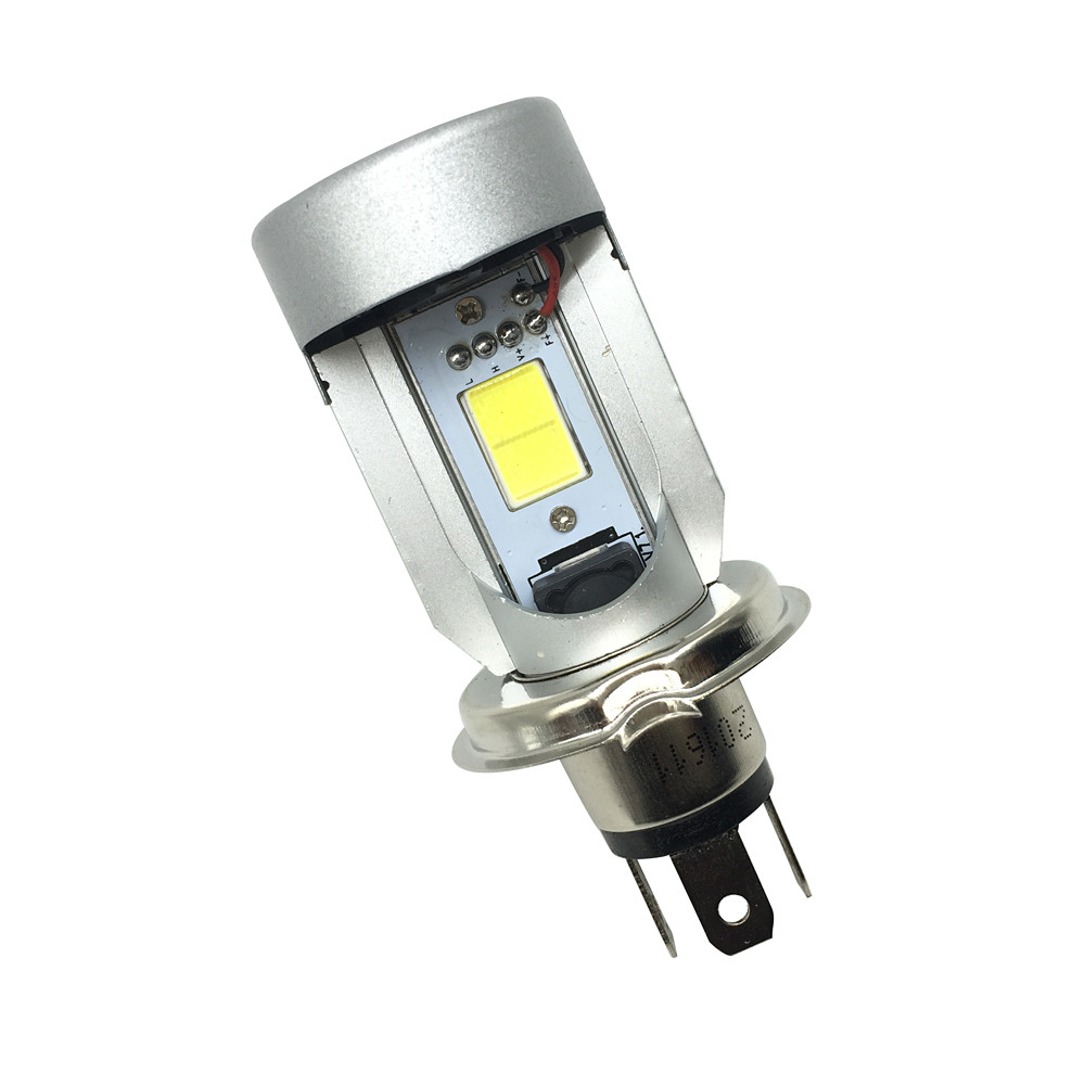 20W H4 Motorcycle electric car LED headlight LED COB DC12V Headlamp far Headlamp Fog Lamp Bulb Light High / low Beam Driving auxmart car led headlight h4 h7 h11 h1 h3 9005 9006 9007 cob led car head bulb light 6500k auto headlamp fog light
