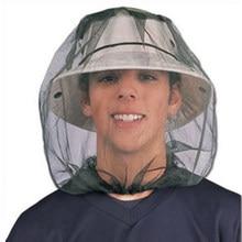Tapa de pesca al aire libre, sombrero antimosquitos, sombrero de pesca, red para insectos rojos, Protector facial, gorros para acampar