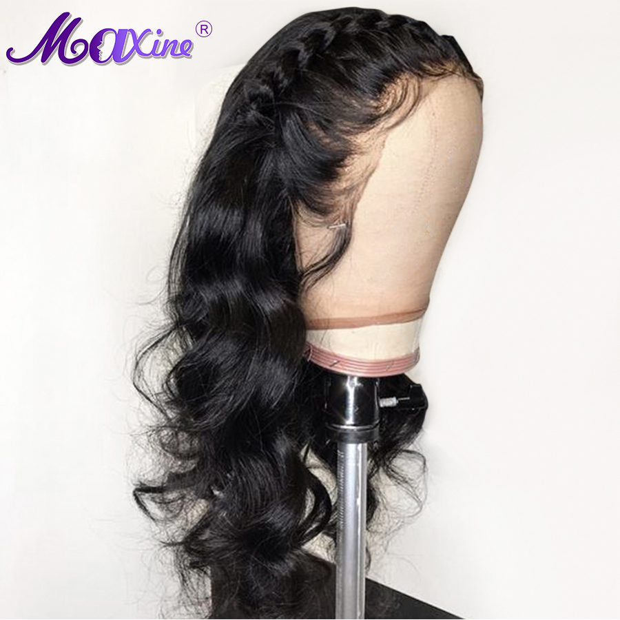 Maxine Body Wave Wig Lace Front Human Hair Wigs For Black Women Pre Plucked With Baby
