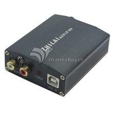 ZHILAI H8 Компьютер USB Внешняя Звуковая Карта ЦАП Декодер Усилитель HIFI Настольного Аудио Звуковая Карта