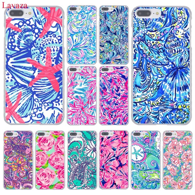 126167bd3db8e US $1.99 22% OFF|Lavaza Lilly Pulitzer Summer flower Pink Phone Case for  Apple iPhone XR XS Max X 8 7 6 6S Plus 5 5S SE 5C 4S 10 Cover Cases-in ...