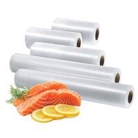 Vacuum Sealer Household Keep Food Fresh Kitchen Food Vacuum roll Bags For Food Various Models 15+20+25+28+30cm*500cm 5 Rolls/Lot