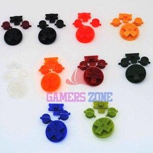 Image 3 - 10 conjuntos de Multi Cor Botões para Gameboy Clássico GB Teclados para GBO DMG DIY para Gameboy Ab botões D pad