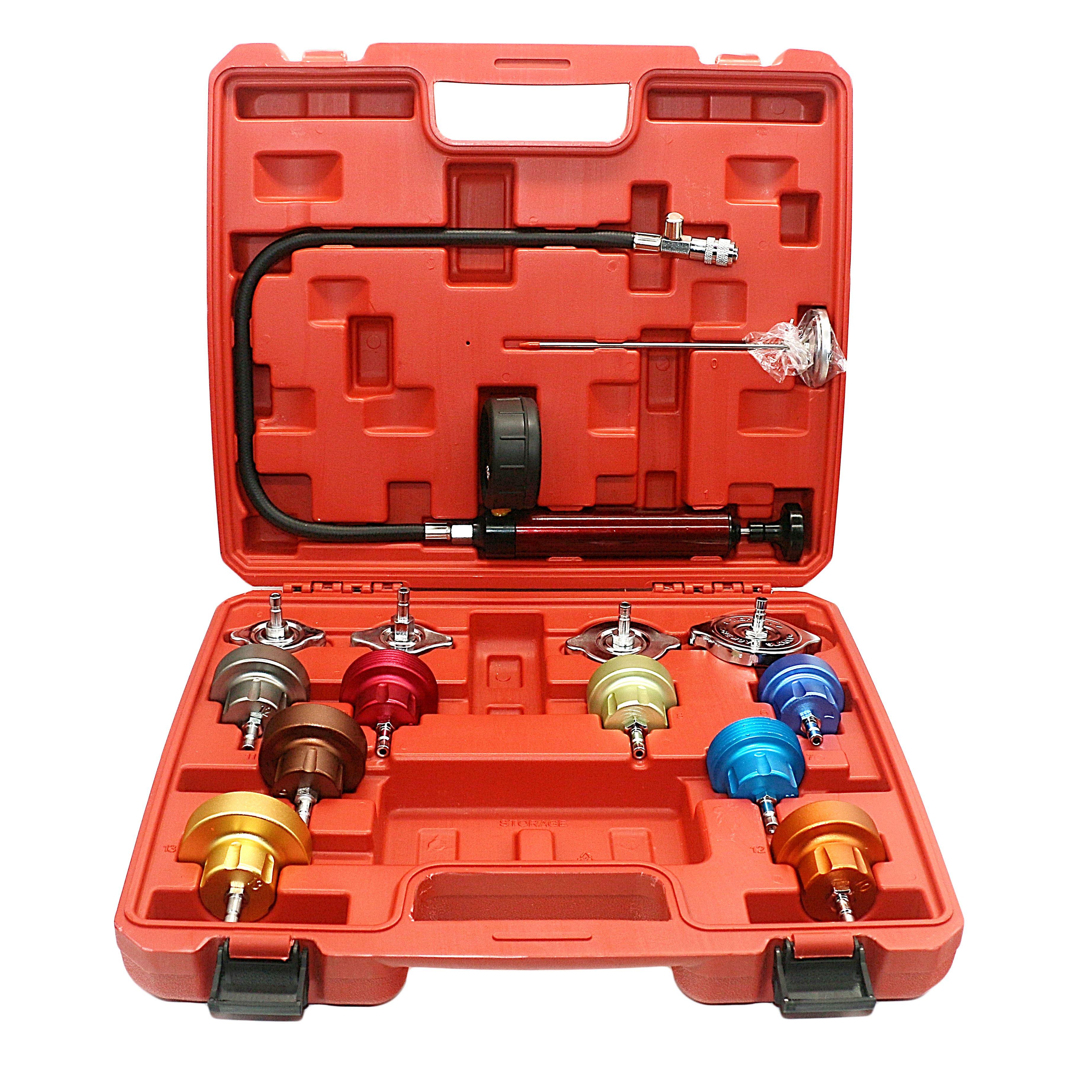 Car Radiator Pressure Tester Kit Automotive Tool Car Water Tank