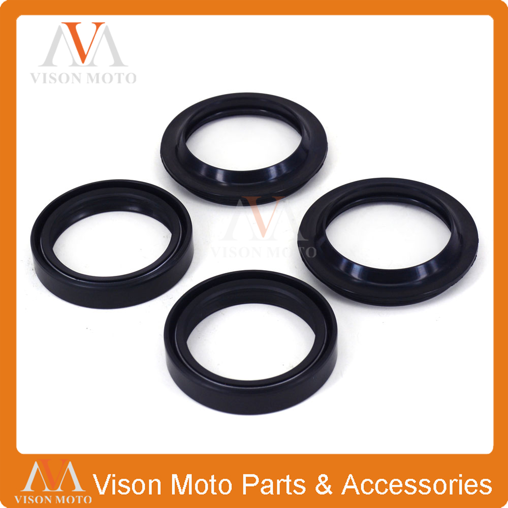 Front Shock Absorber Fork Damper Oil Seal For KAWASAKI ZX600 NINJA ZX6 90-01 ZX-6RR ZZR 600 ZX636 ZX6R KLE650 VERSYS Motorcycle front shock absorber fork dust oil seal for fzs1000sp fz1 03 xvz13 96 10 xv1600a 99 02 xv1600as 01 03 xv1600at 99 03 xv17a 04 10