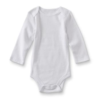baby bodysuit newborn toddler infant clothes white long sleeve unisex 3 6 9 12 18 24 months new born boys girls clothes image