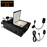TIPTOP TP T61 500W Low Lying Ground Fog Machine Led Stage Lighting Wire Control/ Wireless Remote Control Fog Generator Party