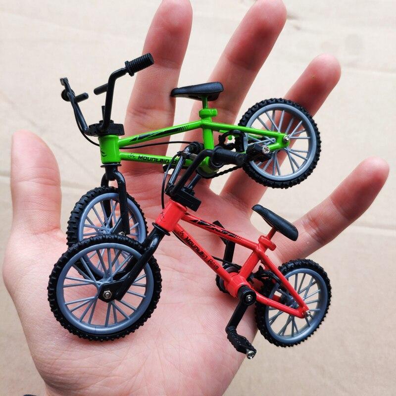 2018 мини-Пальчиковый bmx набор фанатов велосипеда игрушка сплав Пальчиковый BMX функциональный детский велосипед Пальчиковый велосипед отлич...