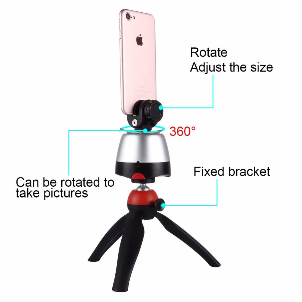 Ny ankomst 3 i 1 Mini Tripod med 360 Rotation Panoramic selfie Robot - Kamera och foto - Foto 4