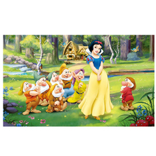 NEW DIY 3D Diamond Painting Snow white and the Seven Dwarfs Cross Stitch Jacquard household decoration resin craft Canvas