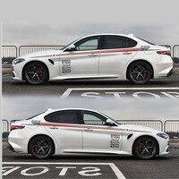 Esporte estilo do carro etiqueta do carro Para A Alfa Romeo Giulia TAIYAO acessórios do carro adesivos de carro e decalques auto adesivo|Adesivos para carro| |  -