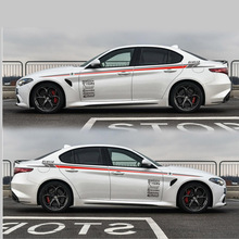 цена на TAIYAO car styling sport car sticker For Alfa Romeo Giulia car accessories car stickers and decals auto sticker