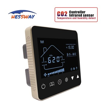 Air system Nather NDIR air quality monitor sensor CO2 gas regulator Reduce concentration for temp&Humidity detector new mh z19 0 5000ppm infrared co2 sensor for co2 indoor air quality monitor