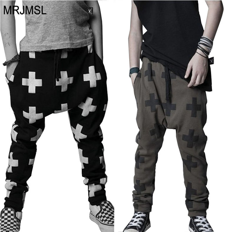 Sweatwater Mens Casual Chinese Style Beach Harem Plus Size Long Pants