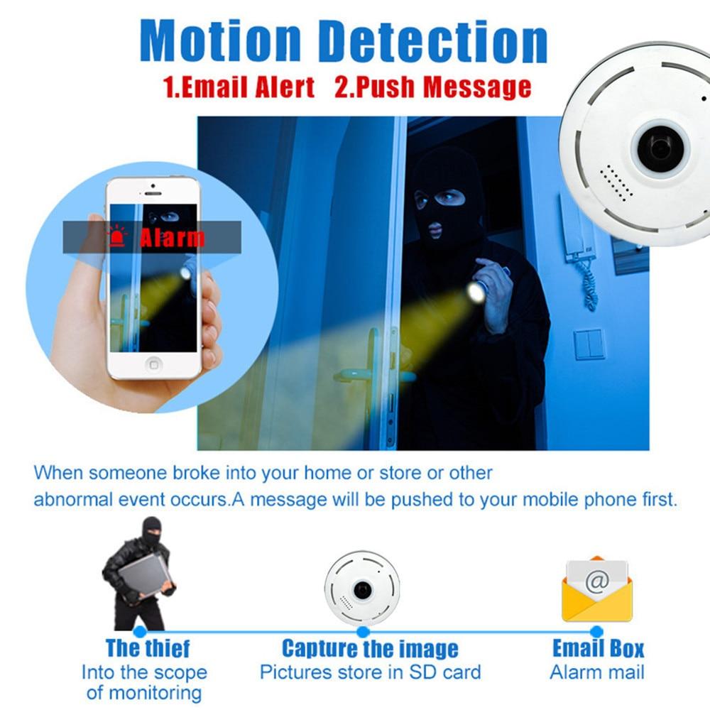 Cobell HD 960 P Wi-fi Câmera IP de Segurança Em Casa Sem Fio 360 - Segurança e proteção - Foto 4