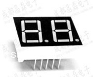10PCS/LOT 2 Digit LED Display 0.56 Red, Common + Anode