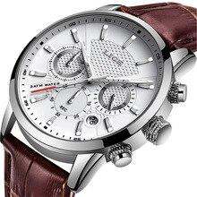 2020 LIGE Watch Men Fashion Sport Quartz Clock Mens Watches Top Brand Luxury Lea